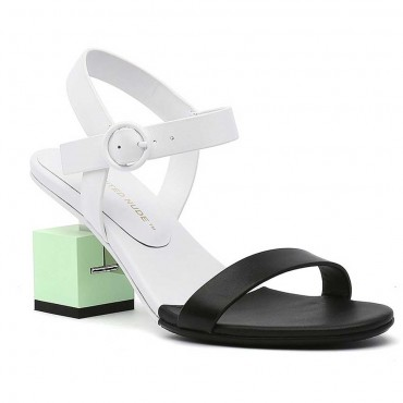 UNITED NUDE CUBE SANDAL MID SHADOW COW