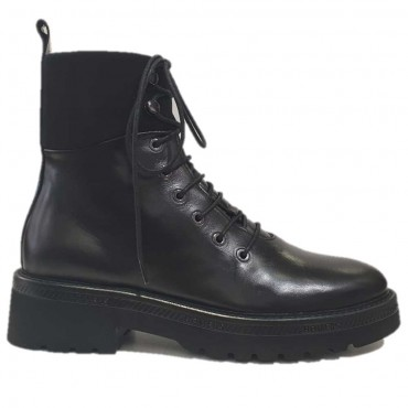 HOMERS Bottine ranger 19822 Noir