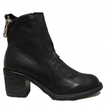 AS98 Bottines A24208 NERO