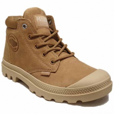 PALLADIUM LOW CUF DEAR BROWN