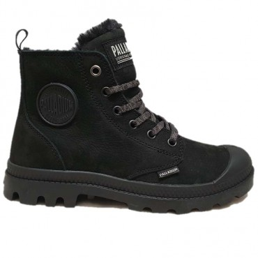 PALLADIUM PAMPA HI BLACK/BLACK
