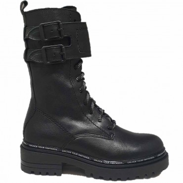 ALPE Boots 4130 NEGRO