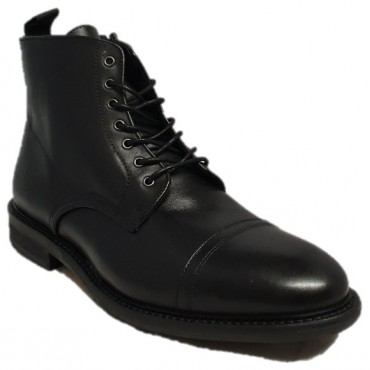 SCHMOOVE Bottines PILOT BOOTS BLACK