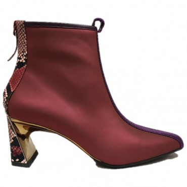 UNITED NUDE LUCID MOLTEN MID BURGUNDY