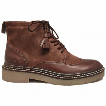 KICKERS Bottillon OXANYHIGH MARRON