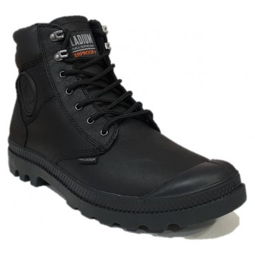 PALLADIUM SHD WP BLACK/BLACK