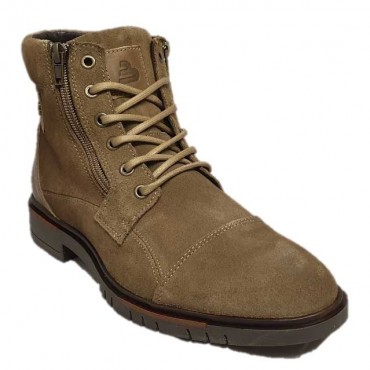 BULLBOXER Bottine à lacets 486 TAUPE