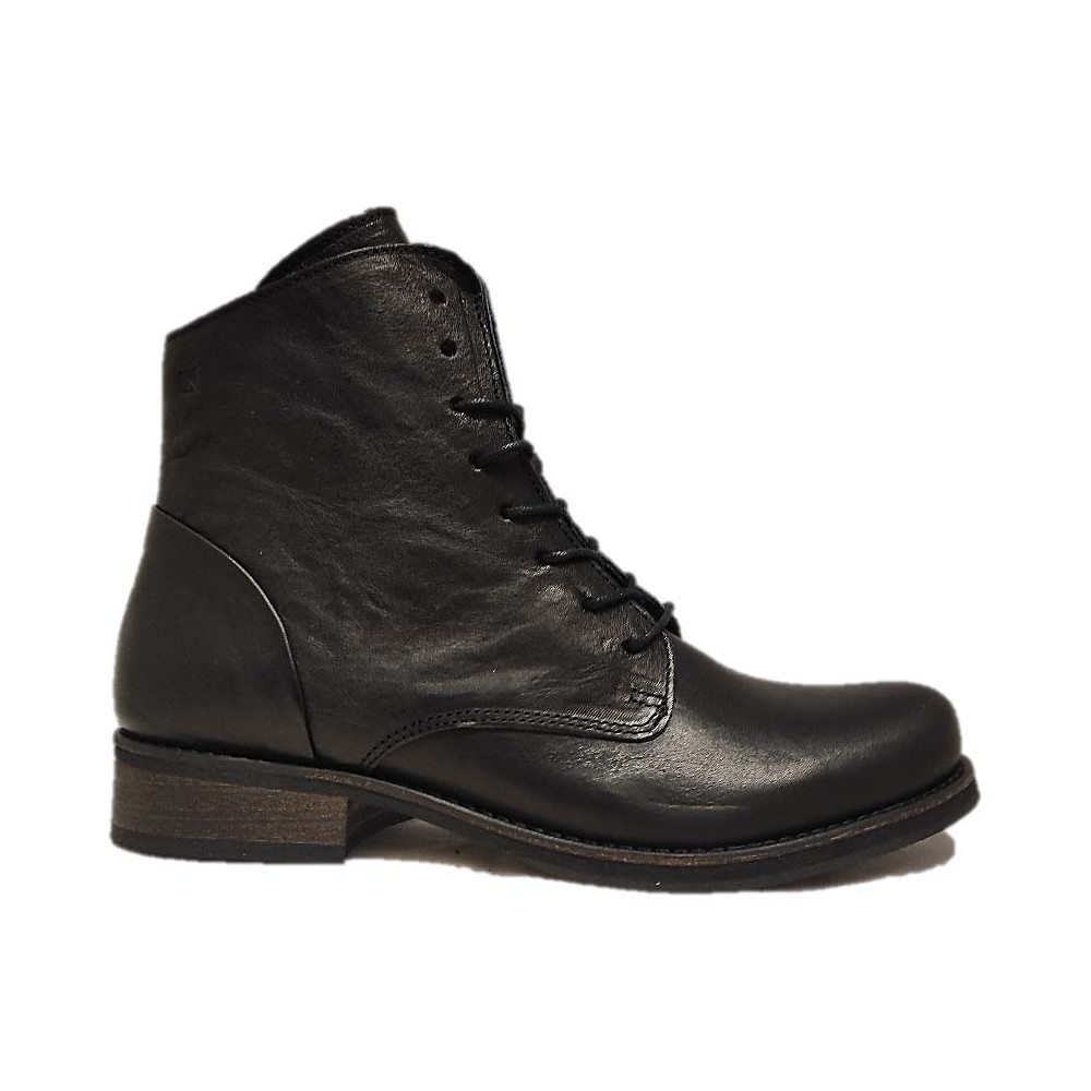 DORKING Bottine à lacets 8067 NOIR