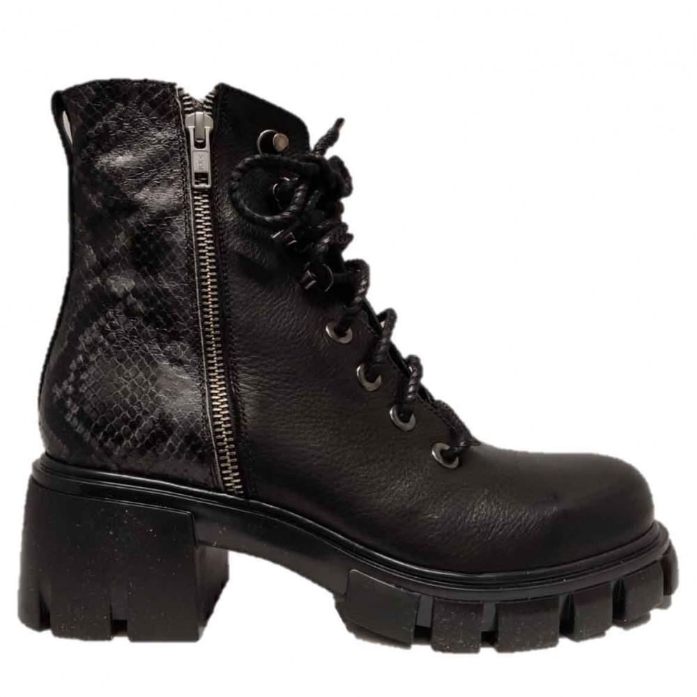 FRUIT Boots 6418 NERO