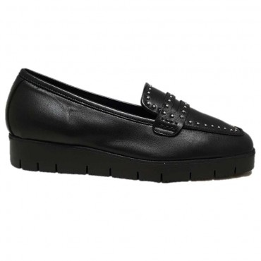REQINS Mocassin NELLY NOIR