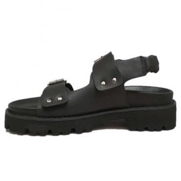 NO NAME Sandale JUNE BLACK GASC RODEZ